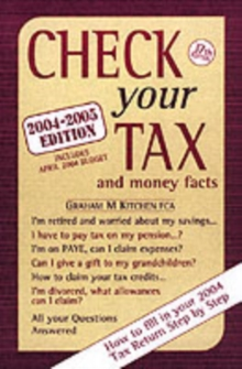 Check Your Tax and Money Facts, Paperback Book