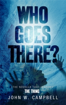 Who Goes There, Paperback / softback Book