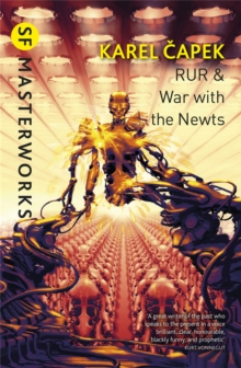 RUR & War with the Newts, Paperback Book