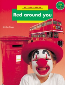 Red Around You Art and Colour, Paperback Book