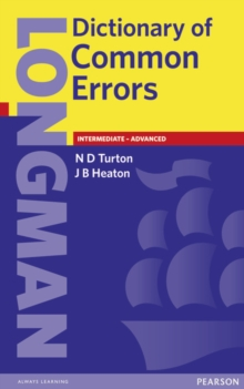 Longman Dictionary of Common Errors New Edition, Paperback / softback Book