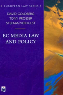 EC Media Law and Policy, Paperback / softback Book