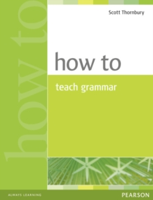 How to Teach Grammar, Paperback Book