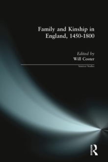 Family and Kinship in England, 1450-1800, Paperback Book