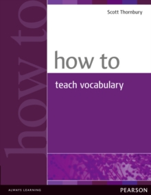 How to Teach Vocabulary, Paperback Book