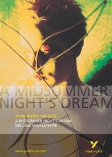 A Midsummer Night's Dream: York Notes for GCSE, Paperback / softback Book