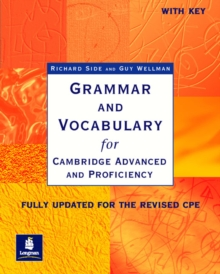 Grammar & Vocabulary CAE & CPE Workbook With Key New Edition, Paperback / softback Book