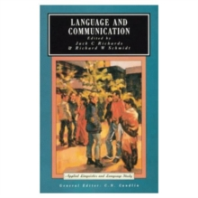Language and Communication, Paperback / softback Book