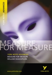 Measure for Measure: York Notes Advanced, Paperback / softback Book
