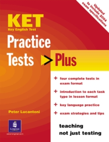 KET Practice Tests Plus Students' Book New Edition, Paperback Book