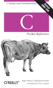 C Pocket Reference, Paperback Book