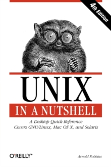 Unix in a Nutshell, Paperback Book