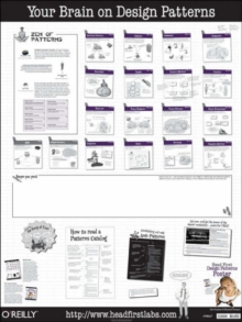 Head First Design Patterns Poster, Poster Book