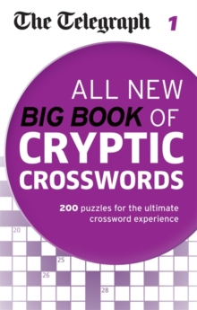 The Telegraph: All New Big Book of Cryptic Crosswords 1, Paperback Book