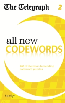 The Telegraph: All New Codewords 2, Paperback Book