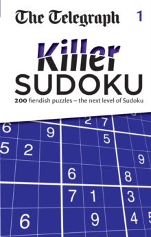 The Telegraph Killer Sudoku 1, Paperback / softback Book