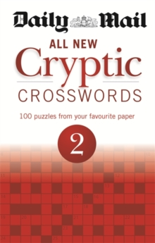 Daily Mail: All New Cryptic Crosswords 2, Paperback / softback Book