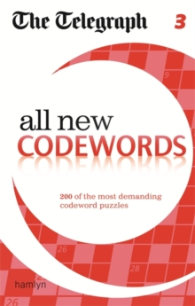 The Telegraph All New Codewords 3, Paperback Book