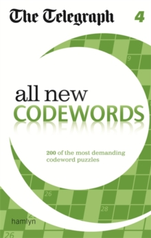 The Telegraph All New Codewords 4, Paperback / softback Book