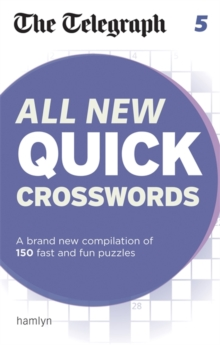 The Telegraph All New Quick Crosswords 5, Paperback / softback Book