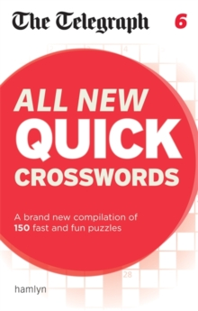 The Telegraph All New Quick Crosswords 6, Paperback / softback Book