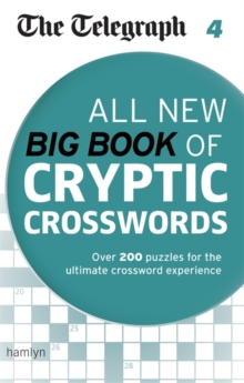 The Telegraph: All New Big Book of Cryptic Crosswords 4, Paperback Book