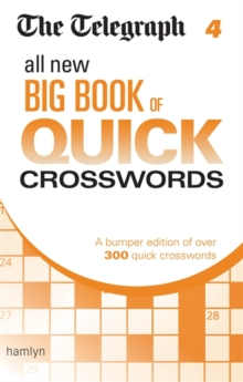 The Telegraph: All New Big Book of Quick Crosswords 4, Paperback Book