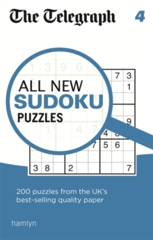 The Telegraph All New Sudoku Puzzles 4, Paperback / softback Book