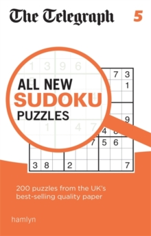 The Telegraph All New Sudoku Puzzles 5, Paperback Book