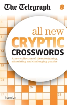 The Telegraph: All New Cryptic Crosswords 8, Paperback / softback Book