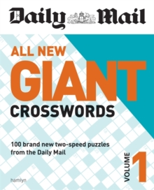 Daily Mail All New Giant Crosswords 1, Paperback / softback Book