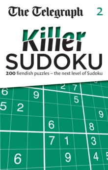 The Telegraph: Killer Sudoku 2, Paperback / softback Book