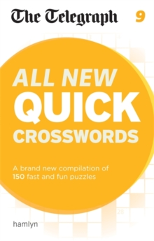 The Telegraph: All New Quick Crosswords 9, Paperback Book