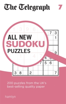 The Telegraph All New Sudoku Puzzles 7, Paperback / softback Book