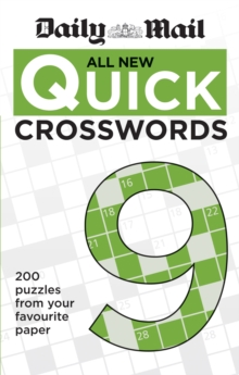 Daily Mail All New Quick Crosswords 9, Paperback / softback Book