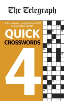 The Telegraph Quick Crosswords 4, Paperback / softback Book