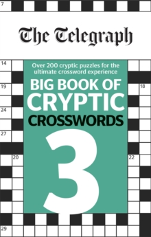 The Telegraph Big Book of Cryptic Crosswords 3, Paperback / softback Book