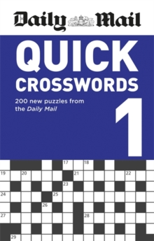 Daily Mail Quick Crosswords Volume 1, Paperback / softback Book