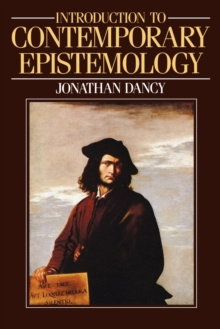An Introduction to Contemporary Epistemology, Paperback Book