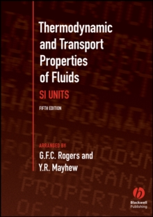 Thermodynamic and Transport Properties of Fluids, Paperback Book