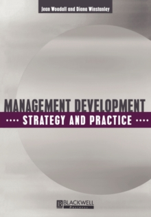 Management Development : Strategy and Practice, Paperback / softback Book