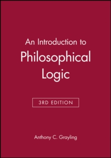 An Introduction to Philosophical Logic, Paperback / softback Book