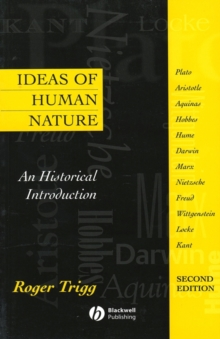Ideas of Human Nature - an Historical Introduction2e, Paperback Book