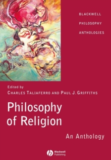 Philosophy of Religion : An Anthology, Paperback / softback Book