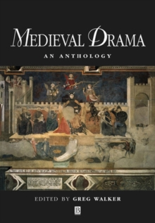 Medieval Drama : An Anthology, Paperback Book