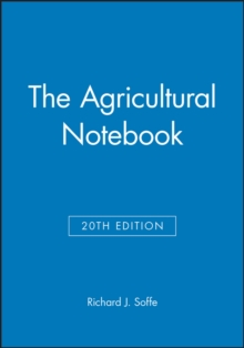 The Agricultural Notebook, Paperback / softback Book