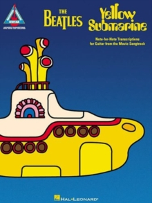 BEATLES YELLOW SUBMARINE GTR TAB GTR,  Book