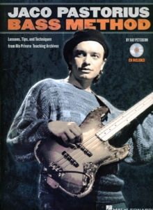 Ray Peterson : Jaco Pastorius Bass Method, Paperback Book