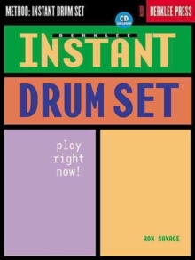 Instant Drum Set, Mixed media product Book