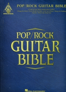 Pop/Rock Guitar Bible, Paperback / softback Book